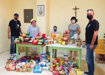 Report of the THIRD COLLECTING products for vulnerable Benalmadenas citizens