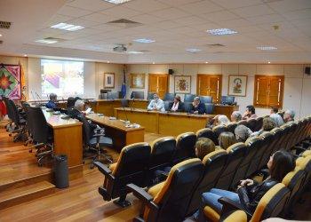 Презентация проекта Ассоциации LuckyQuilters International в Мэрии для города Бенальмадена